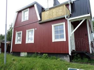 Helrenovering av äldre villa i Tärnaby
